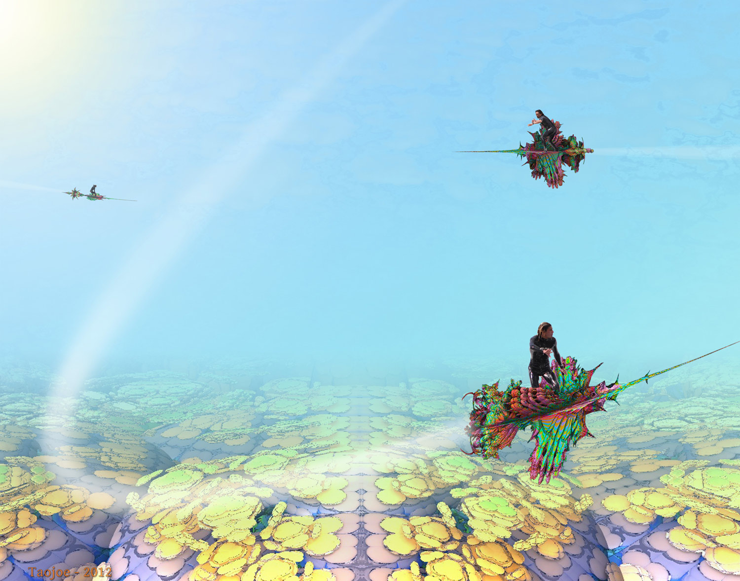 Fractal Riders From... Someplace Someplace
