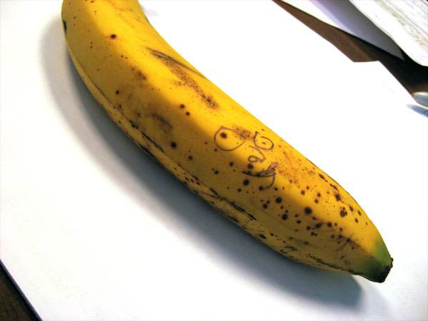 Drawing On Fruit