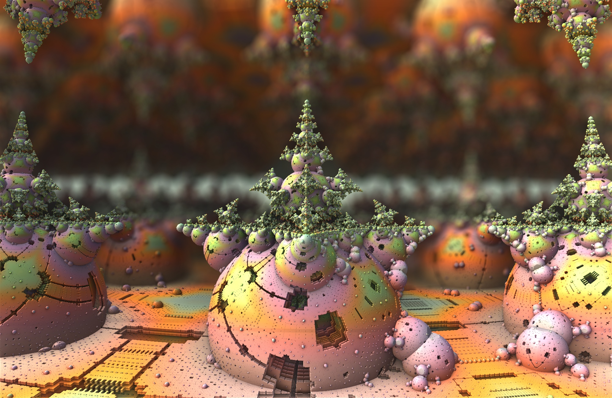 Variations on a Theme in Fractal
